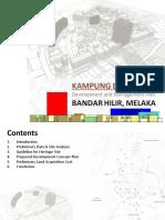 Bukit Cina Development Plan