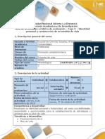 Guía de actividades y rúbrica de evaluación - Fase 2 - Identidad personal y construcción de mi sentido de vida.pdf
