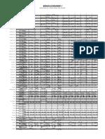 BRASILEIRANDO I - Partitura Completa