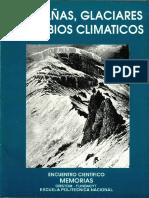 Montanias, Glaciares y Cambio Climatico, 1996