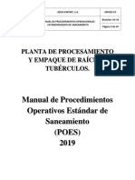 Manual de Poes Aziza Export, s.a.2019