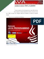 Actividad 2 Configuración de variables de entorno