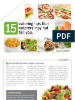 15 Catering Tips