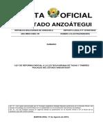 REFORMA PARCIAL A LA LEY BOLIVARIANA DE TASAS Y TIMBRES FISCALES DEL ESTADO ANZOATEGUI.pdf