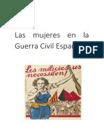 Mujeres en la Guerra Civil