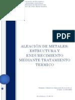 Aleacion de Metales