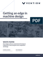 Vention Getting an Edge in Machine Design