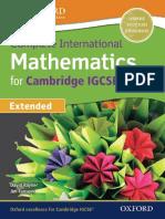 Complete International Mathematics for Cambridge IGCSE (0607)