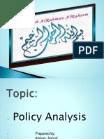 preparedpresenttionpolicyanalysis-160518055957