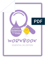 Science for Kids Workbook Essential Oil Edition