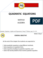 Lesson 3 - Quadratic Equations.pptx