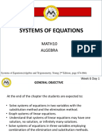 Lesson 5 - Systems of Equations.pptx