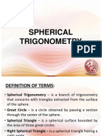 Lesson 10 - Spherical Trigonometry.ppt