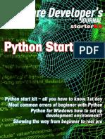 Software Developer Journal - Python Starter Kit (13_2013)
