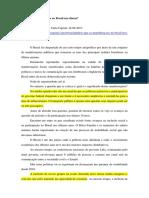 AVRITZER, Leonardo - O Que as Manifestações No Brasil Nos Dizem