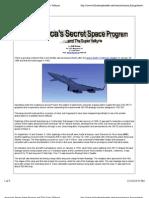 America's Secret Space Program and the Super Valkyrie