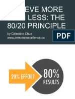 The 80 20 Principle Personal Excellence eBook