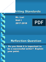Writing Standards PPT.ppt