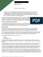 Practical Database Design
