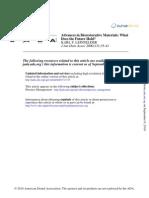 Bio Restorative Materials 2005
