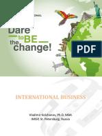 International business seminary