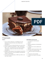 Tupperware -Torta de Café