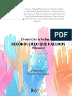 Diversidad e inclusión Reconocer lo que hacemos Volumen 2.pdf