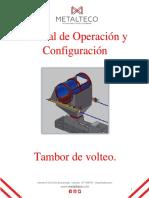 Manual Tambor Volteo