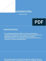 Clase No. 1 Agroindustria[1]