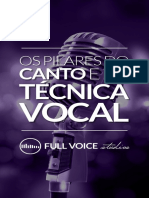 Pilares do Canto e Tecnica Vocal