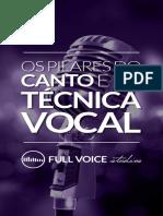 Pilares do Canto e Tecnica Vocal