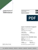 Manual Sony KDL40R510C