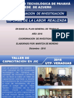 2016 Informe Investigacion
