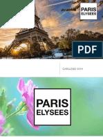 Catalogo 2019 Paris Elysees