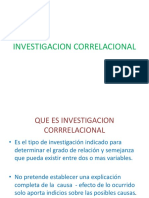 Investigacion Correlacional