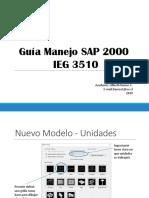Guía Manejo SAP 2000