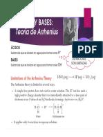 Clase 04, 05, 06, 07. Acidos y Bases