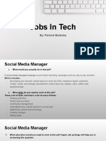 jobs in tech