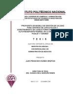 Tesis Sobre Autotransporte y un sistema de gestion de la calidad