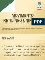 Mru Movimentoretilineouniforme 130520132311 Phpapp01