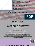 Home Rule Charter Presentation 2019