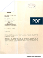 Renuncia de Guillermo Garau Díaz al PFEI