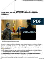 Diez Años Sin Los GRAPO_ Derrotados, Pero No Muertos