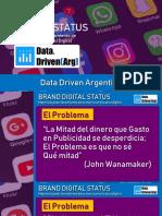 Data Driven Argentina - Brand Digital Status
