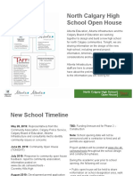 20190702 North Calgary High School OpenHouse Presentation