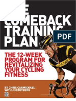 Comeback Training Plan