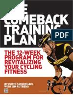 Comeback Training Plan