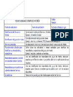Ficha Técnica de Grupo de Interès