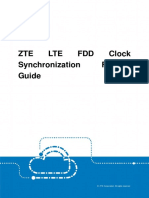 ZTE LTE FDD Clock Synchronization Feature Guide