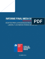 informe mesa sindical